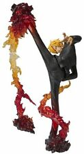 Figuarts ZERO One Piece SANJI BATTLE Ver Diable Jambe Flambage Shot PVC BANDAI
