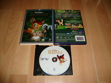 BAMBI CLASICO NUMERO 5 DE WALT DISNEY EN DVD EDICION DIAMANTE EN BUEN ESTADO