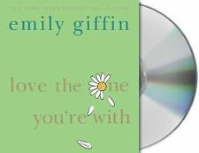 Love The One Your With – Emily Giffin Audio Book CD Abridged Used