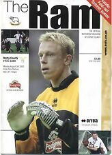 Derby County v S.S. Lazio - Official Matchday Programme 05-08-2002