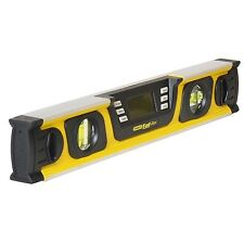 Stanley FatMax DIGITAL SPIRIT LEVEL w/ LCD Screen & Memory Recall Function, 40cm