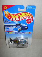 Hot Wheels 1994 Silver Series Chrome Police Proper Chopper