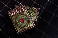 Regal Red Playing Cards Deck Brand New Limited by Gamblers Warehouse