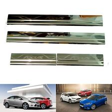 SILL SCUFF PLATE FOR FORD FOCUS 4DOOR 5DOOR 2009-2016 SEDAN HATCHBACK 10 15