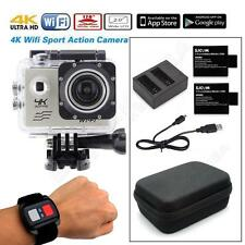 Full HD 4K@30fps SJ8000 WiFi Sports Helmet Camera w/Remote+Battery+Charger+Case