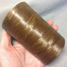 Artificial Sinew Spool of Brown, 70# Test, 1,200 Ft/400 Yrd