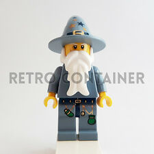 LEGO Minifigures - 1x cas363 - Good Wizard - Fantasy Era Castle Omino Minifig