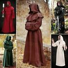 Heavy Weight Monks Robe & Hood. Perfect for Stage, Costume, Re-enactment & LARP.