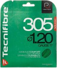 TECNIFIBRE 305 SQUASH STRING - 1.20MM - ONE 9M SET - GREEN - RRP £15
