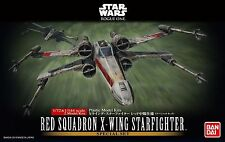 Red Squadron X-Wing fighter modelo kit 1/72 de Bandai, Star Wars: Rogue One