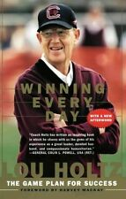 Winning Every Day: The Game Plan for Success by Lou Holtz, (Paperback), HarperBu