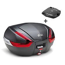 Topcase Givi Honda VFR 1200 F MK V47NN schwarz/carbon