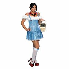 Wizard of Oz: Dorothy Sexy Adult Plus Size Costume