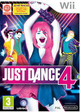 Just Dance 4 Special Edition, Nintendo Wii Game  PAL - Holographic Cover