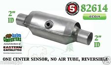 "Eastern Universal Catalytic Converter ECO II Catalyst 2"" Pipe 10"" Body 82614"