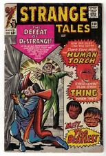 MARVEL Comics VG- 3.5 Dr  STRANGE TALES  NICK FURY  #130 Beatles issue thing