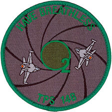 USAF TEST PILOT SCHOOL - CLASS 2014B - HAVE BREATHLESS - PATCH