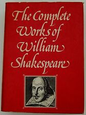THE COMPLETE WORKS OF WILLIAM SHAKESPEARE-HARDBACK-DJ-1978-ABBEY LIBRARY