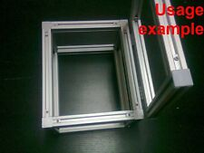 Aluminum T-slot extruded profile 20x20-6 Box + Lid frame size 240x200x150mm