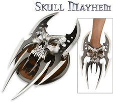 Skull Mayhem III Fantasy Knife Dagger With Plaque #2091