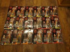 BIG LOT OF HASBRO--STAR WARS EPISODE 1 FIGURES (NEW)