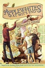 Applewhites at Wit's End by Stephanie S. Tolan HARDCOVER, NEW! NEWBERY HONOR