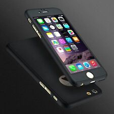 Tempered glass+Front and back 360° PC Hard Case Cover for iphone 7 plus