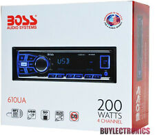 Boss 610UA In-Dash Car Digital Media Receiver/Radio/USB/SD/AUX/MP3
