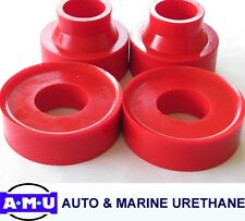 RED POLYURETHANE COIL SPRING SPACERS Fits JEEP GRAND CHEROKEE 50mm WG/WJ Models