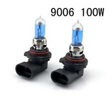 2X 12V 100W 9006 Super Bright Ultra White Fog Halogen Bulb Car HeadLight Lamp