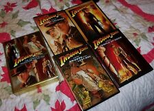 Indiana Jones - The Complete Adventure Collection (DVD, 2008, 5-Disc Set)!