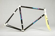 Vintage Rossin Road Bike Frameset Time Fork SUPER RARE