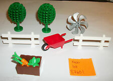 LEGO Farm Parts CARROT APPLE Tree Fence Wheel Barrow 87751 98288 6079 3470  City