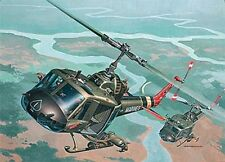 Revell of Germany [RVL] 1:48 Bell UH-1C/B Huey Hog Plastic Model Kit RVL04476