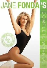 Jane Fonda's Complete Workout DVD 2015 by LIGHTYEAR VIDEO ExLibrary