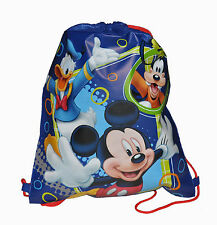 LOT 6 DISNEY MICKEY MOUSE Kids Sling Bag Tote Backpack BIRTHDAY PARTY FAVORS