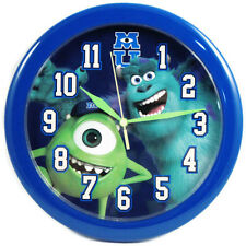 "DISNEY Monsters University DECORATIVE KIDS ROOM 10"" ROUND WALL CLOCK GIFT Watch"