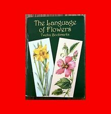 ☆VERY*RARE BOOK:only1WORLD-JOAN O'BRIEN-THE LANGUAGE OF FLOWERS:TWELVE BOOKMARKS
