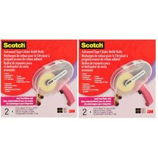 3M Scotch Advanced Tape Glider REFILL ROLLS 2 Pack ~ Lot of 2 ~ KNOCKOUT CRAFTS