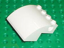 LEGO White Slope Brick Curved 61487 / set 7593 7649 4439 60022 10244 41109 4993