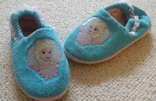 EX con ragazze Disney congelato Pantofole Sz 1 noce moscata Elsa