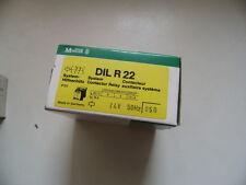 Moeller Hilfsschütz DILR22 24V/50Hz/AC,OVP ,DIL R-22 2 Schließer 2 Öffner  2S,2Ö