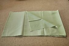 "* Vintage pale green Crease ""500"" Resist shiny satin (?) fabric * 125cm x 93cm"