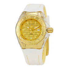 Technomarine Cruise Monogram Gold Dial Ladies Watch 115156