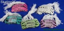 250 Zebra Print Paper Print Merchandise Price Tags #5 with White Strung