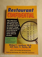 Restaurant Confidential The Shocking Truth About What You're Really Eating