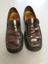 Cole Haan cordovan leather loafers, Nike Air soles, Men's 11 M