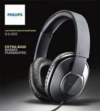 Philips Sound Isolation Dynamic Bass/True-to-Life Audio Headphones SHL4500GY