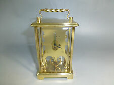 "VINTAGE ""Schatz & Sohne"" GERMAN SKELETON STYLE 8 DAY CLOCK (WATCH THE VIDEO)"