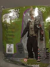 Child Boy Punk Zombie Costume Rubies 882061 Size Large 12-14 slightly damaged